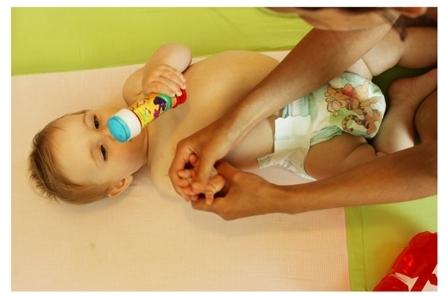 התפתחות תינוקות - מודעות גוף